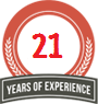 17 Years Of Experience
